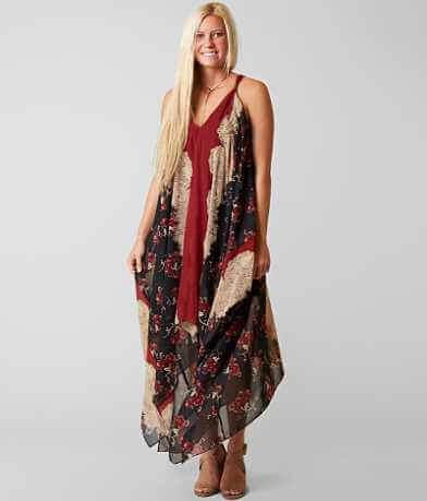 Gimmicks Printed Maxi Dress