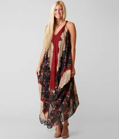 Gimmicks Printed Maxi Dress