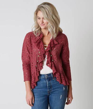 Gimmicks Lace Flyaway Jacket