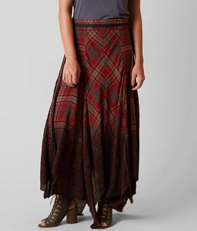 Gimmicks Plaid Skirt