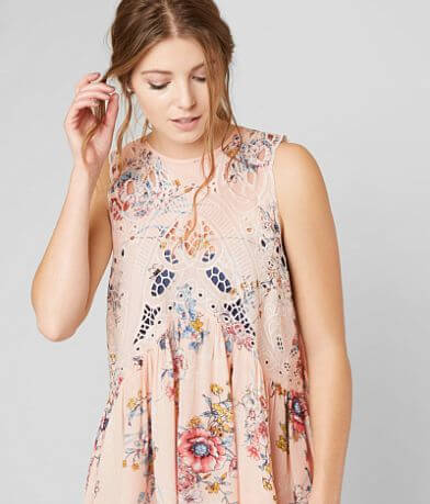 Gimmicks Metallic Floral Top
