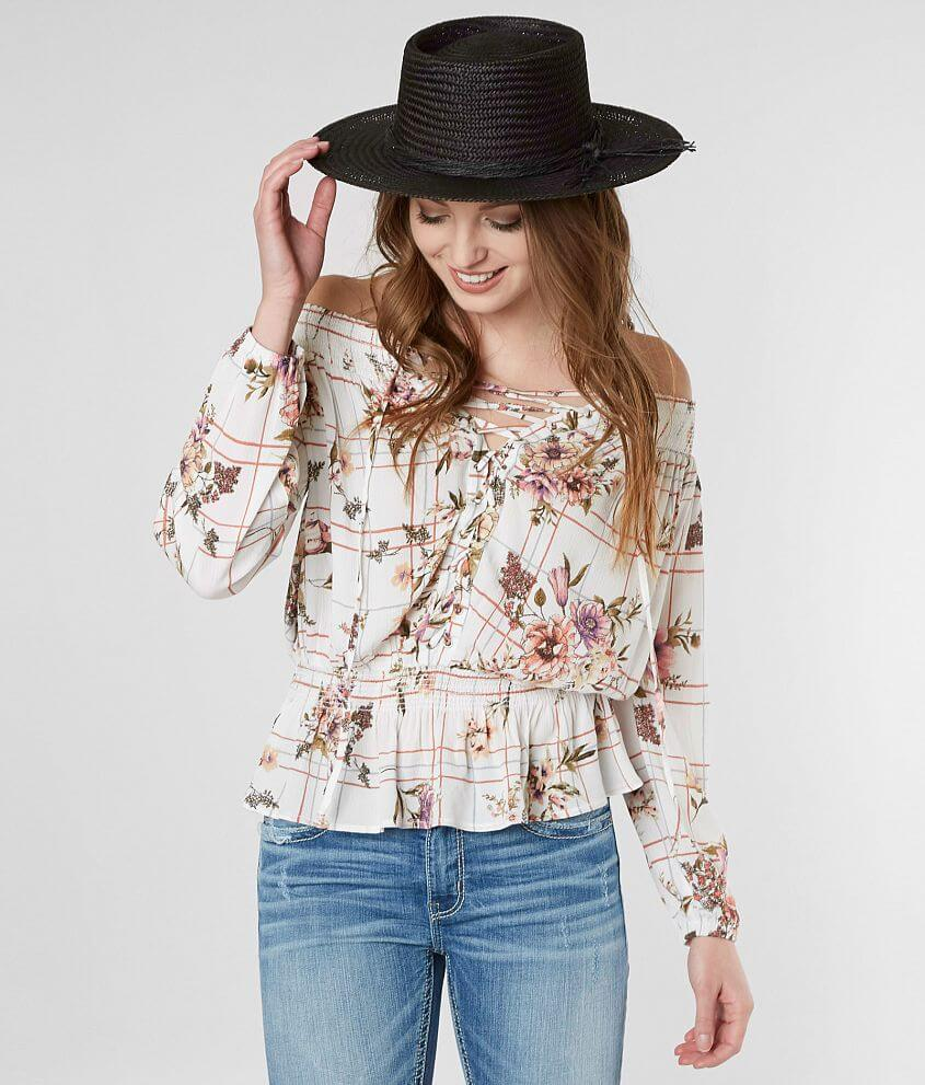 ad9df18c88c98a Gimmicks Floral Off The Shoulder Top - Women's Shirts/Blouses in ...