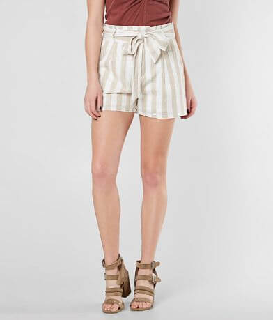 Gimmicks Linen Striped Shorts