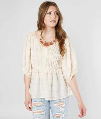 Gimmicks Embroidered Lace Top