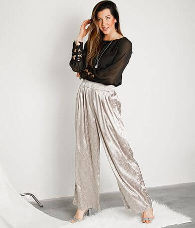 Gimmicks Satin Wide Leg Pant