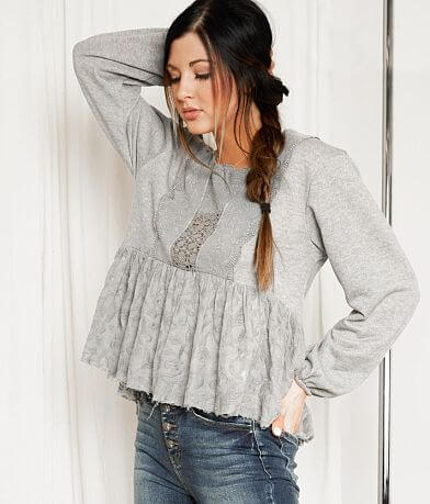 Gimmicks Embroidered Knit Top
