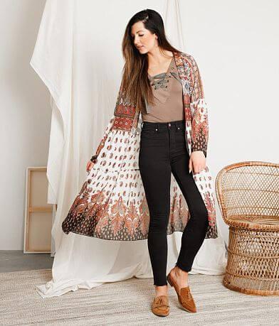 Gimmicks Paisley Printed Kimono