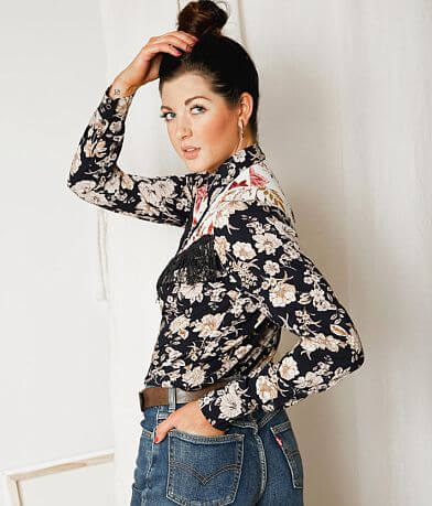 Gimmicks Western Floral Shirt