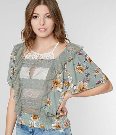 Gimmicks Floral Print Top