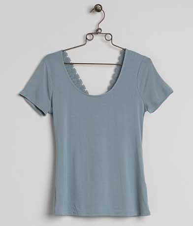 BKE Boutique Scoop Neck Top