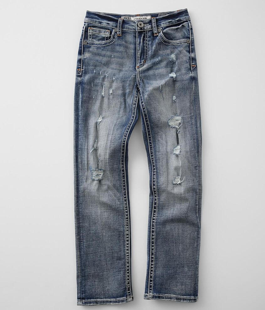 Boys - BKE Conner Straight Stretch Jean front view