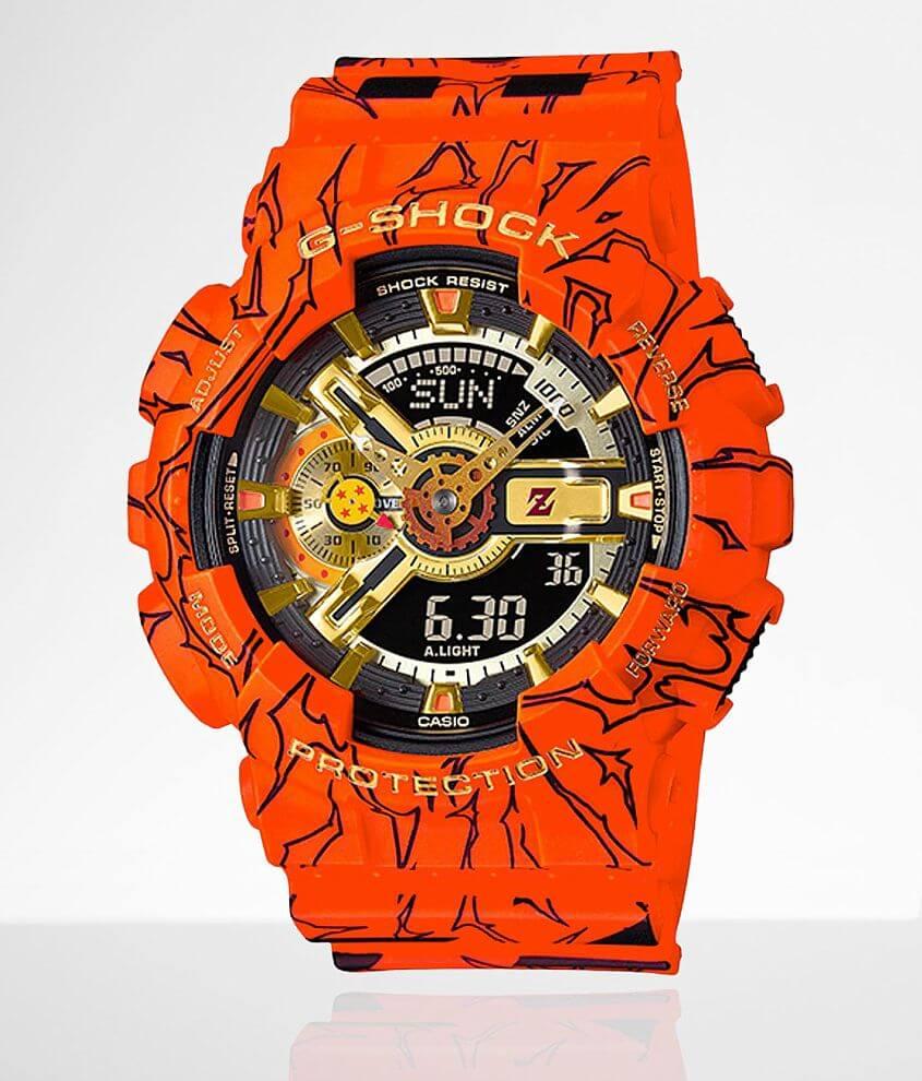 G-Shock Dragon Ball Z GA110JDB-1A4 Watch front view