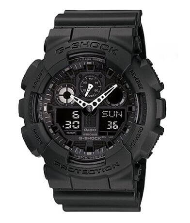 G-Shock GA100BT-1A Big Combi Military Watch