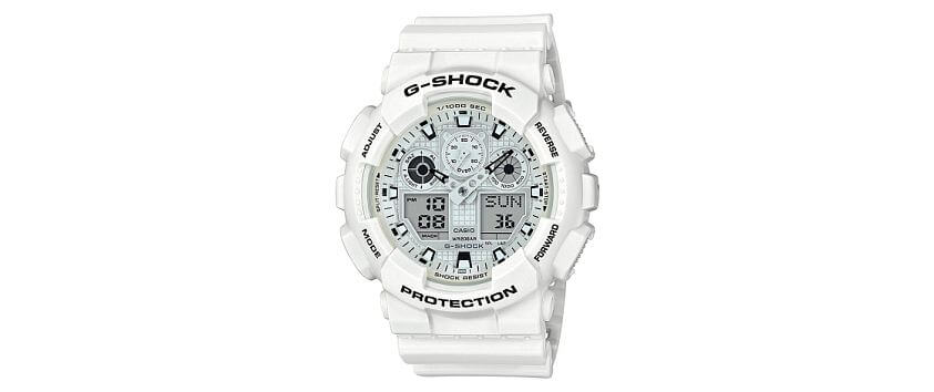 G-Shock GA100MW-7A Watch front view