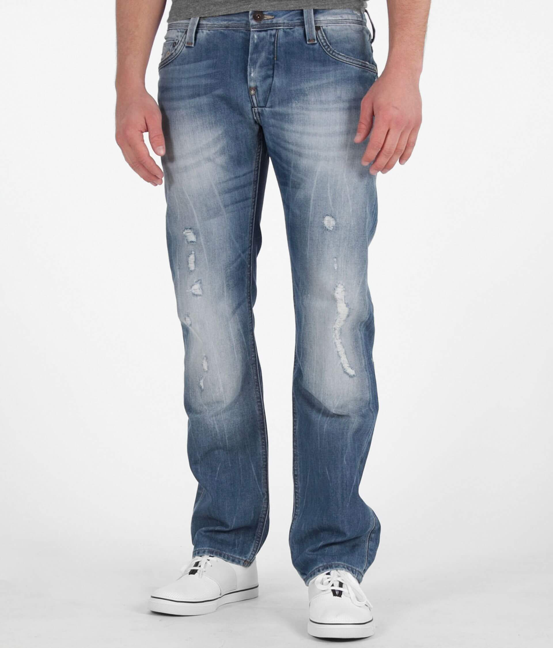 28bc073e0d8 G-Star RAW Attacc Straight Jean - Men's Jeans in Light Aged Destroy ...