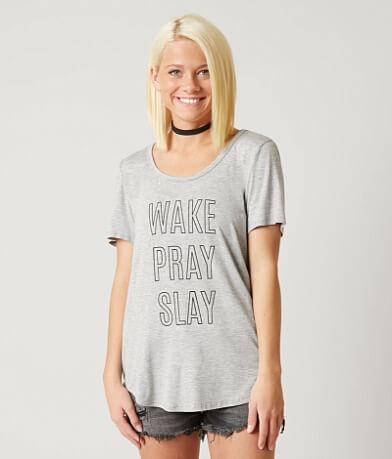 twine & stark Wake Pray Slay T-Shirt