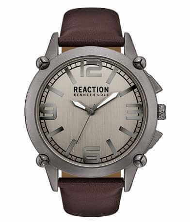 Kenneth Cole Reaction Leather Watch