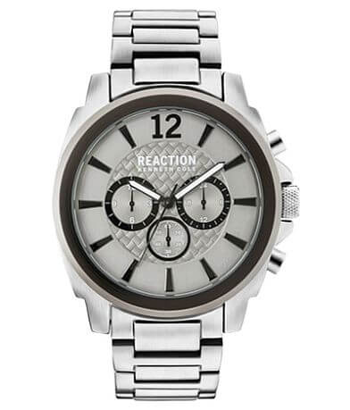 Kenneth Cole Reaction Silver Tone Watch