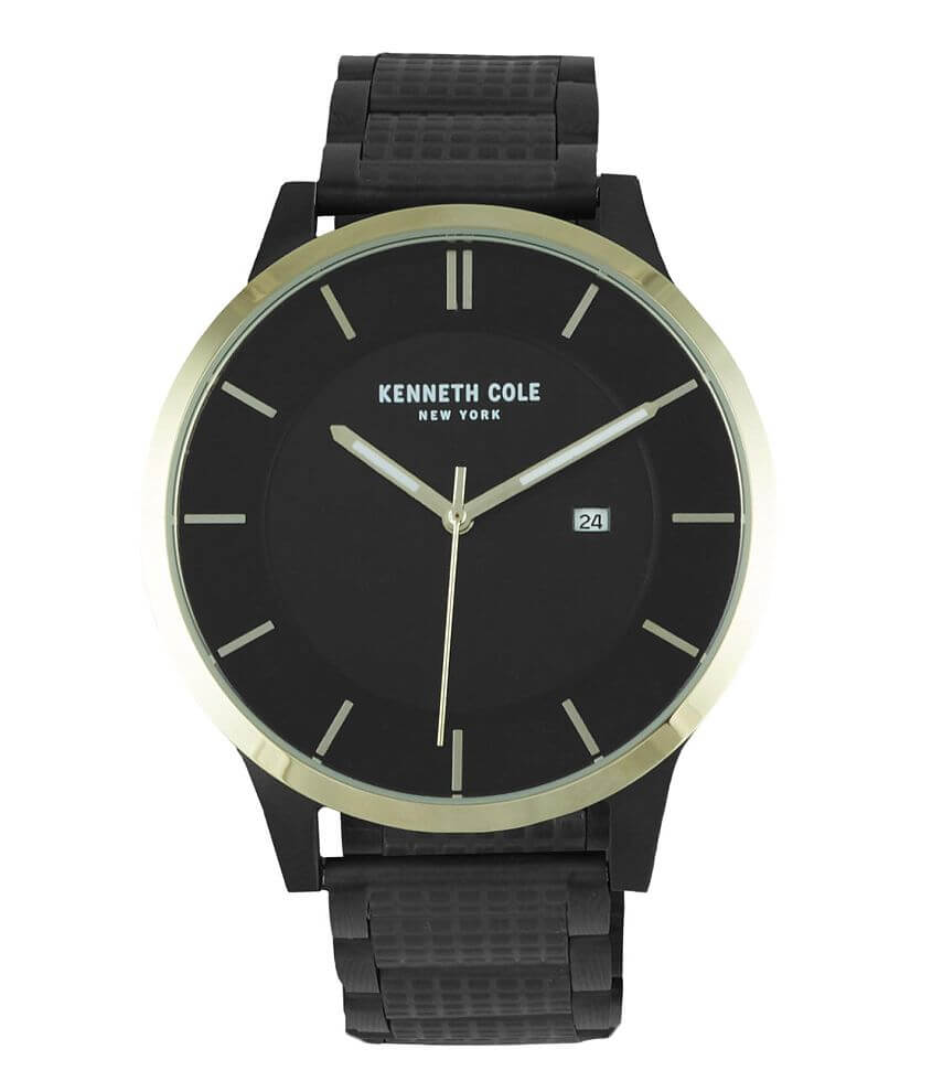 Kenneth Cole Textured Watch front view