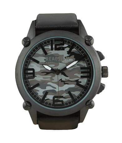 Kenneth Cole Camo Reaction Watch