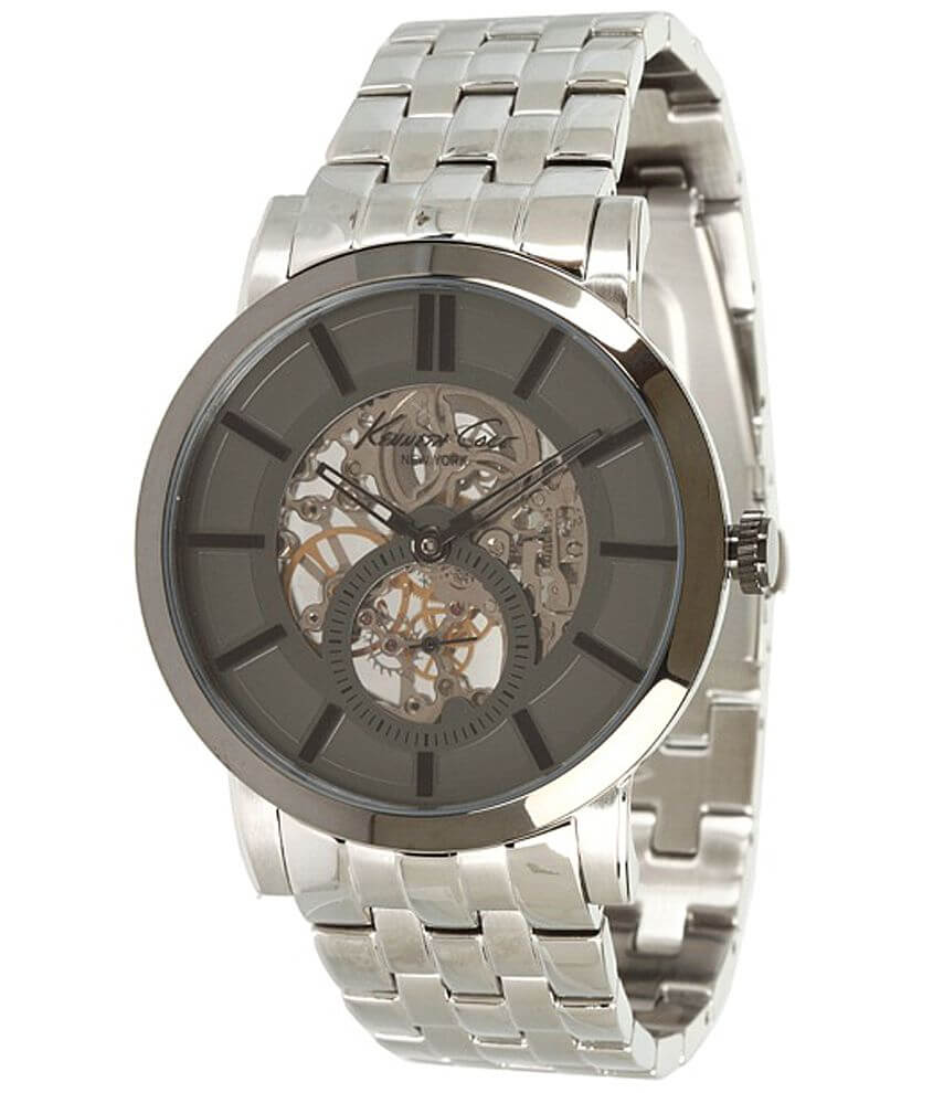 Kenneth Cole Exposed Mechanics Watch front view
