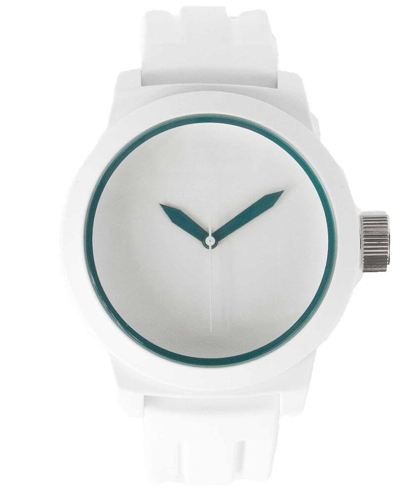 Kenneth Cole Reaction Teal Dial Watch front view