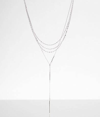 BKE Tiered Bar Necklace