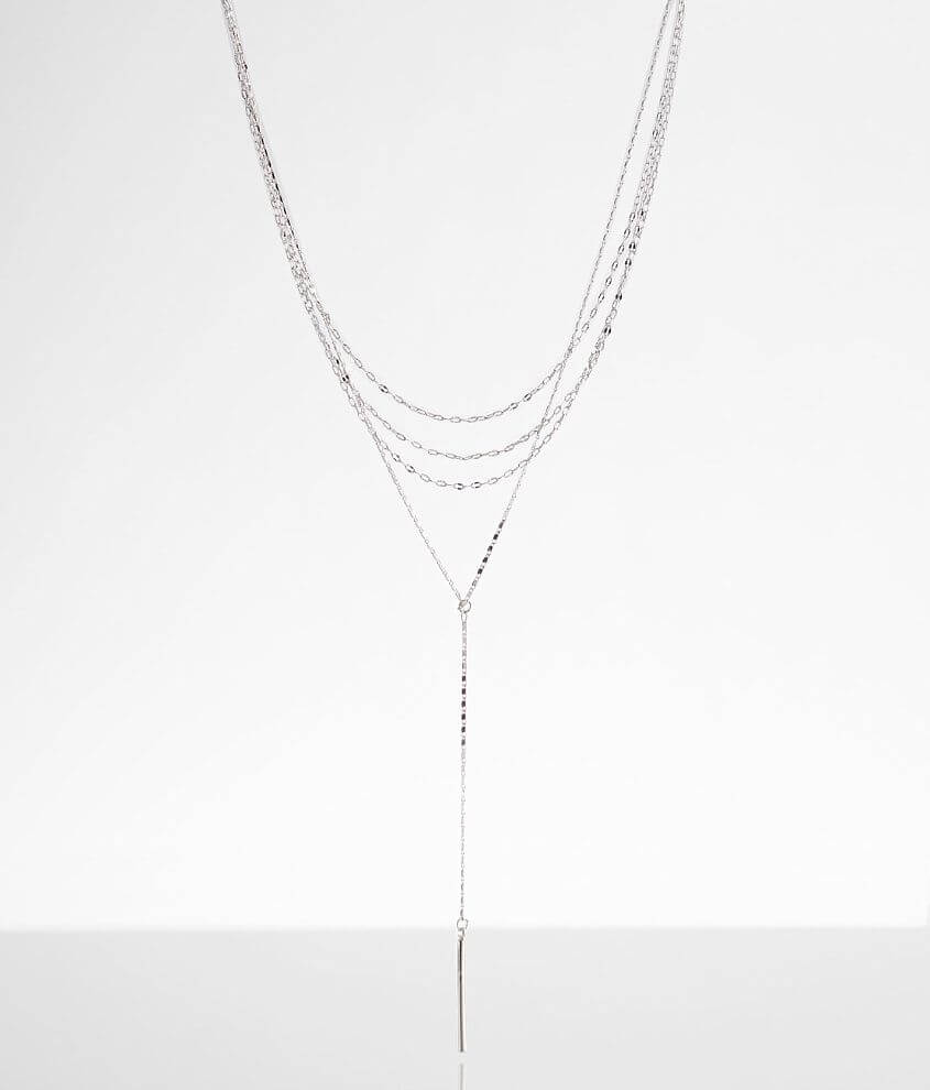 BKE Tiered Bar Necklace front view