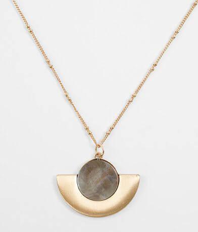 BKE Opalescent Pendant Necklace