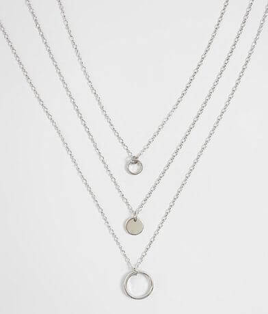 BKE Layered Dainty Necklace Set