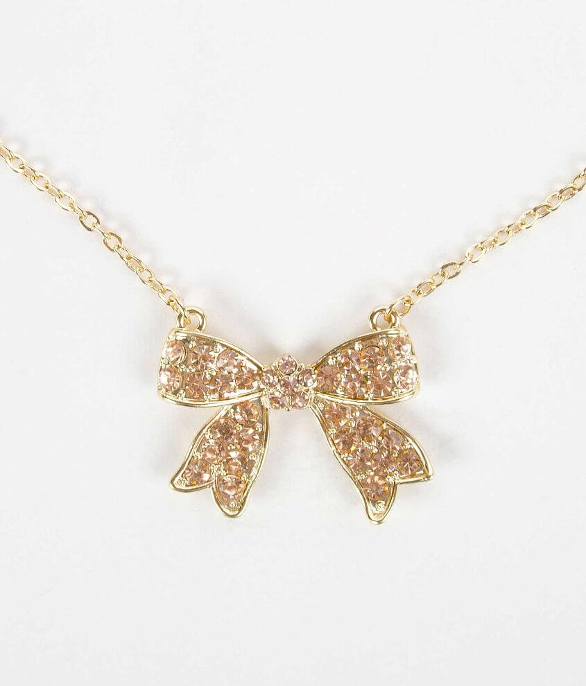 Daytrip Bow Necklace front view