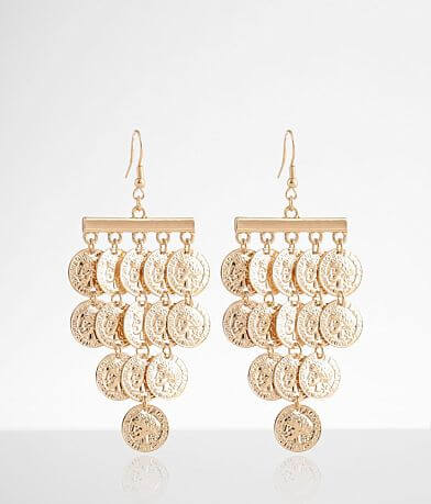 BKE Tiered Coin Earring