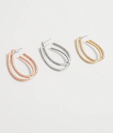 BKE Glitz Earring Set