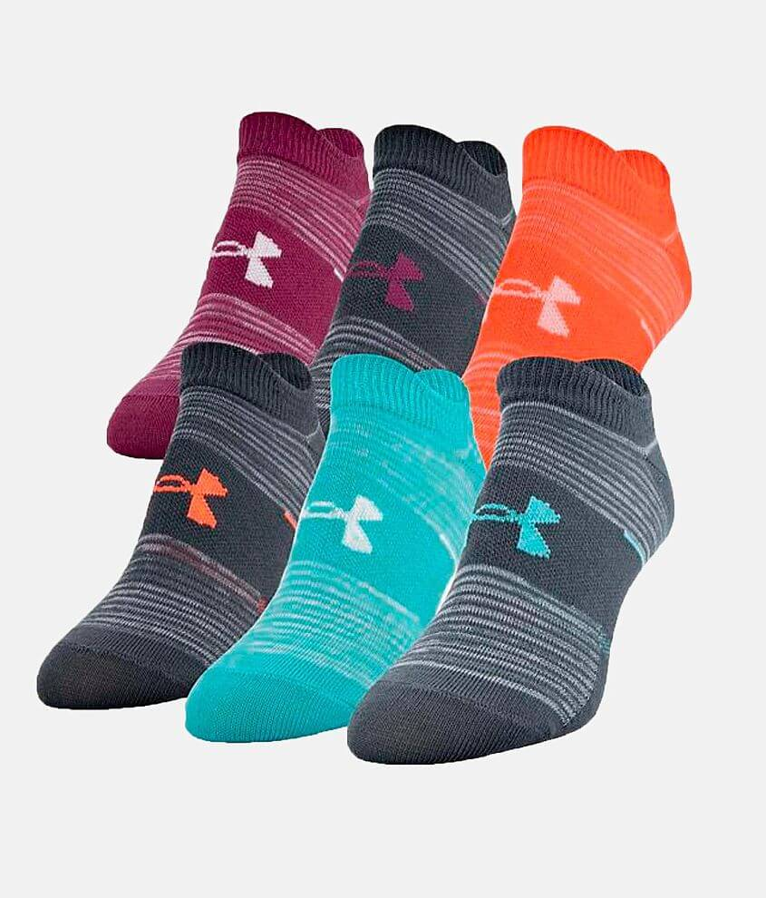 Under Armour® Essential 2.0 6 Pack Socks front view