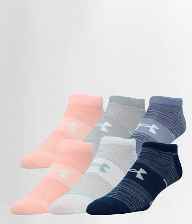 Under Armour® Essential 2.0 6 Pack Socks