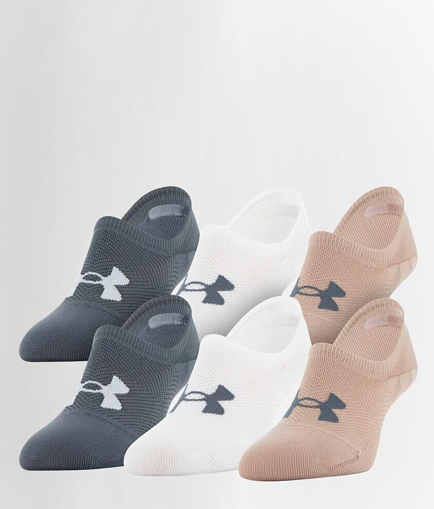 Under Armour® Breathe Lite 6 Pack Socks front view