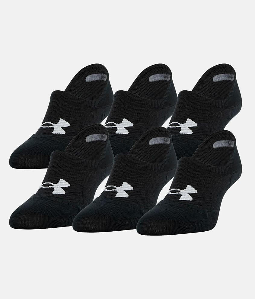 Under Armour® Essential 6 Pack Socks front view