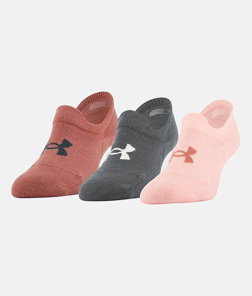 Under Armour® Essential 3 Pack Socks front view