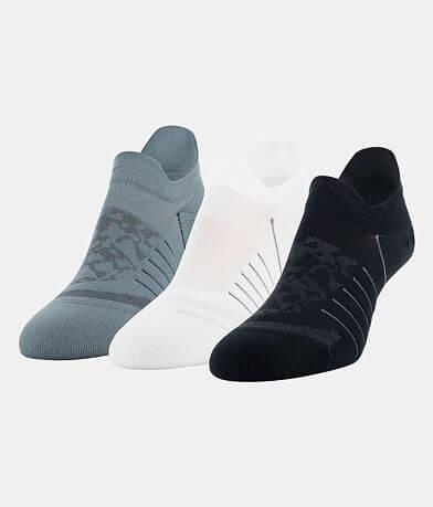 Under Armour® Breathe 3 Pack Socks