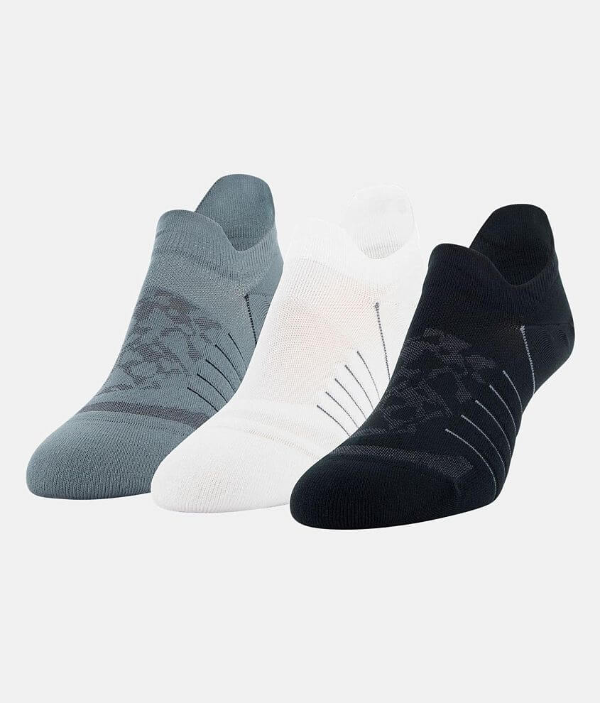 Under Armour® Breathe 3 Pack Socks front view