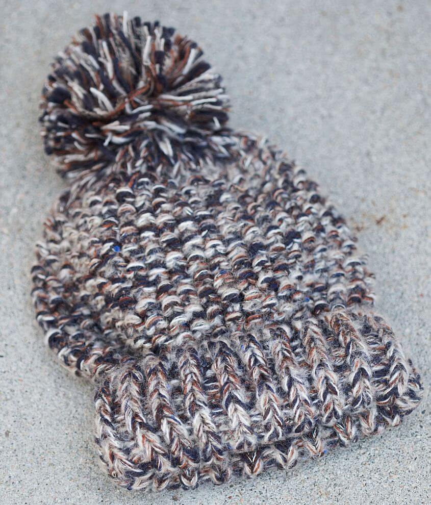 Sequin Beanie front view