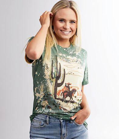 Gina Cactus & Cowboy T-Shirt