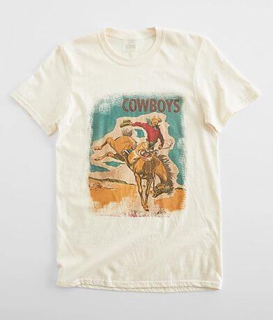 Gina Cowboy Bronc Rider T-Shirt