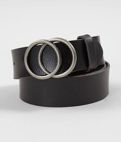 BKE Double Circle Leather Belt