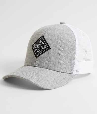 Departwest Heathered Trucker Hat