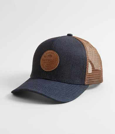 Outpost Makers Denim Trucker Hat