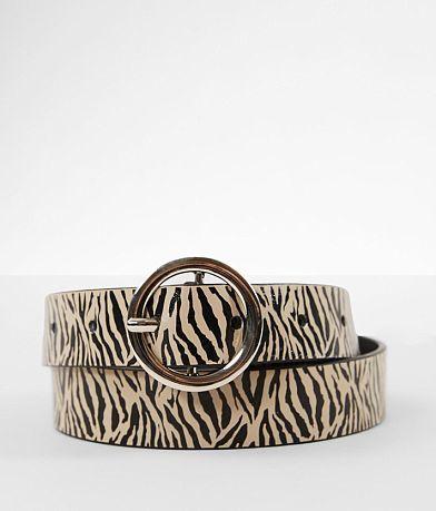 BKE Zebra Print Belt