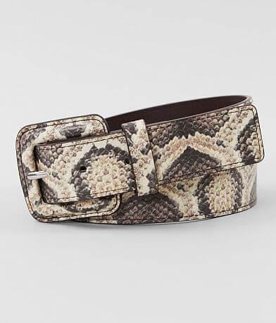 BKE Faux Snakeskin Belt