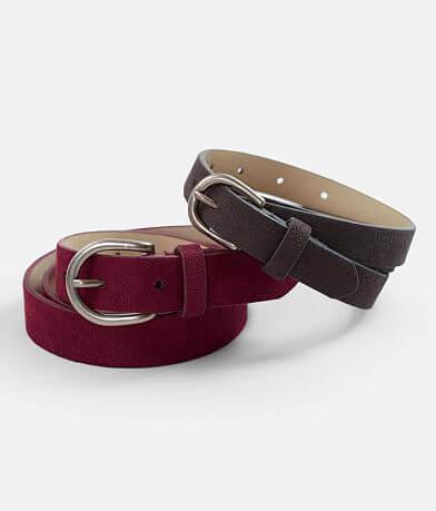 BKE Skinny Belt Set