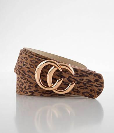 BKE Leopard Printed Belt